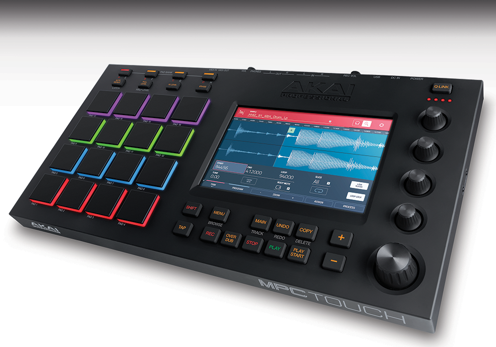 SAMPLE TOOLS FEATURES ON NEW AKAI MPC TOUCH