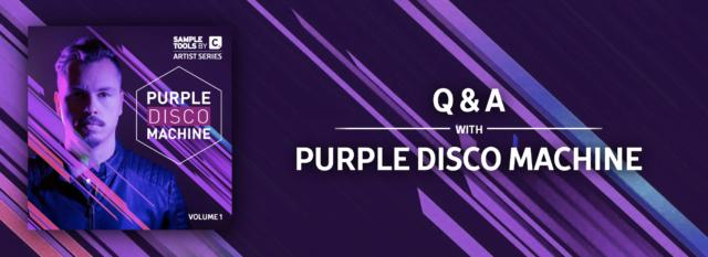 Q&A with Purple Disco Machine