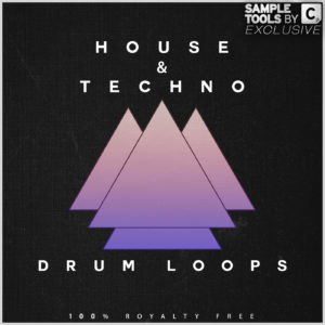 House & Techno Drum Loops - Artwork